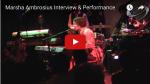 MARSHA AMBROSIUS | Interview & Performance